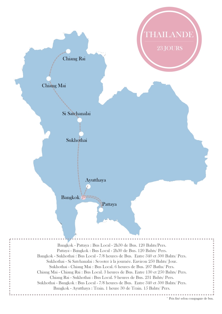 itineraire tghilande nord