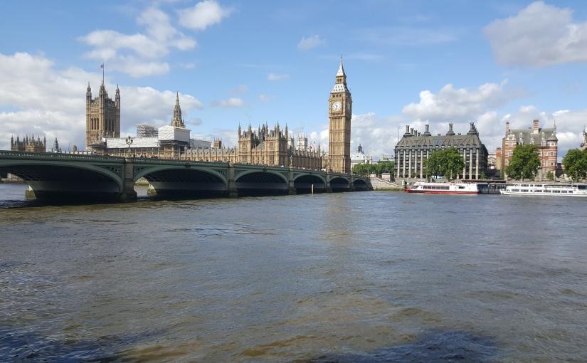 LONDRES, ENTRE AUDACE ETROYAUTÉ