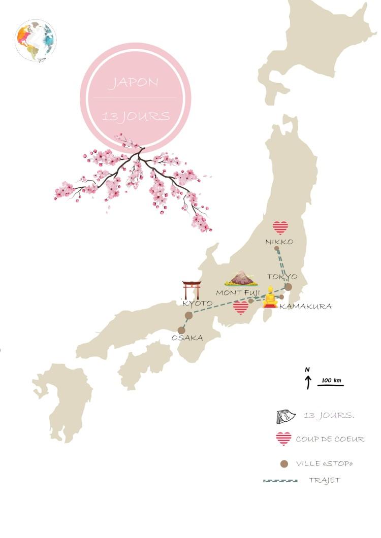 japon itinéraire
