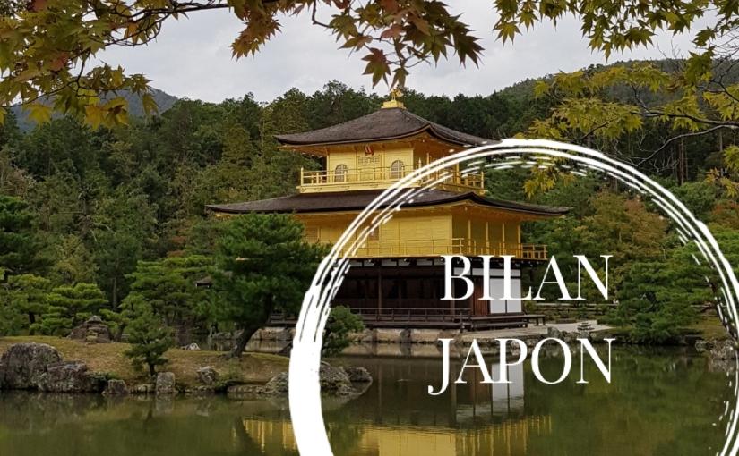 JAPON : ITINÉRAIRE ETBILAN.