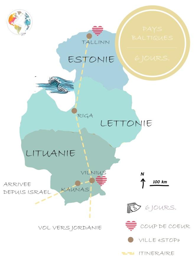 carte baltiques