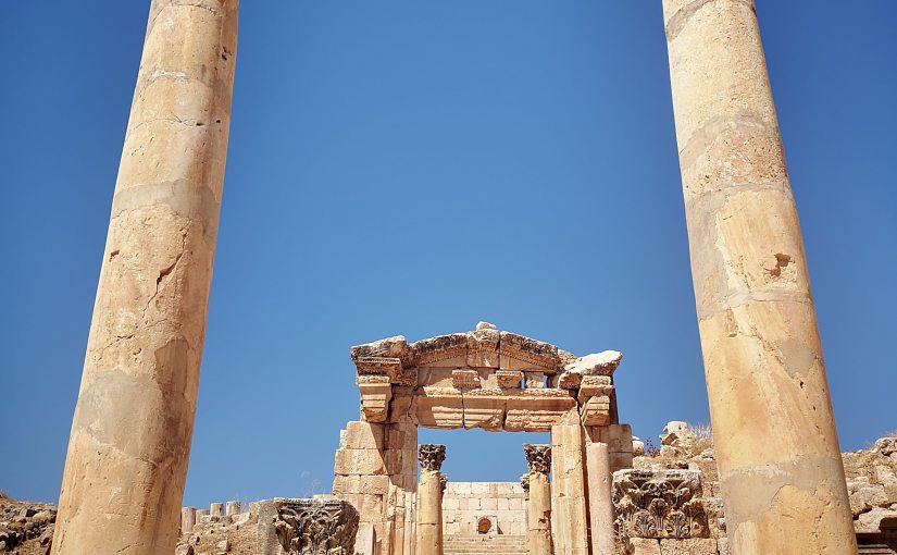 JERASH, ANCIENNE CITÉ ROMAINE NOMMÉE «GERASA».